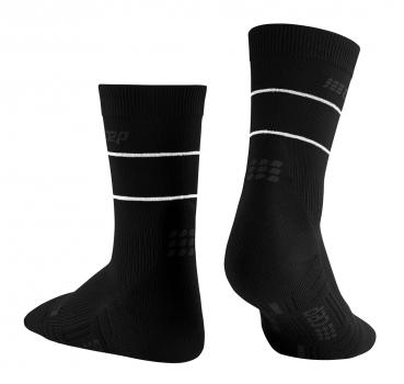 REFLECTIVE Compression Mid Cut Socks - Männer